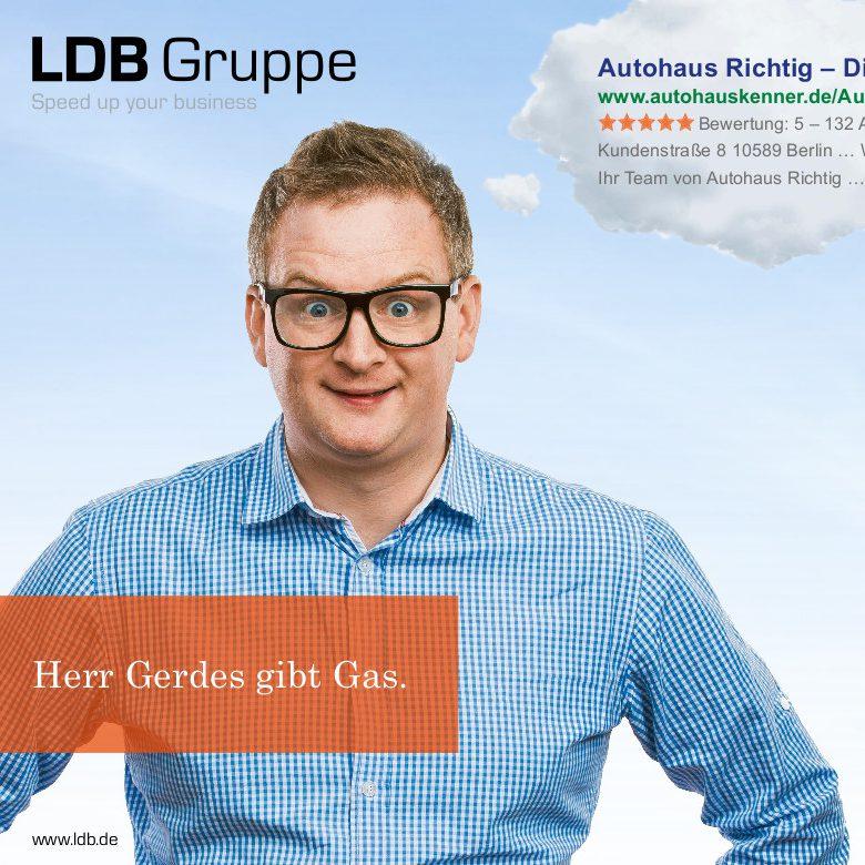 Herr Gerdes gibt Gas