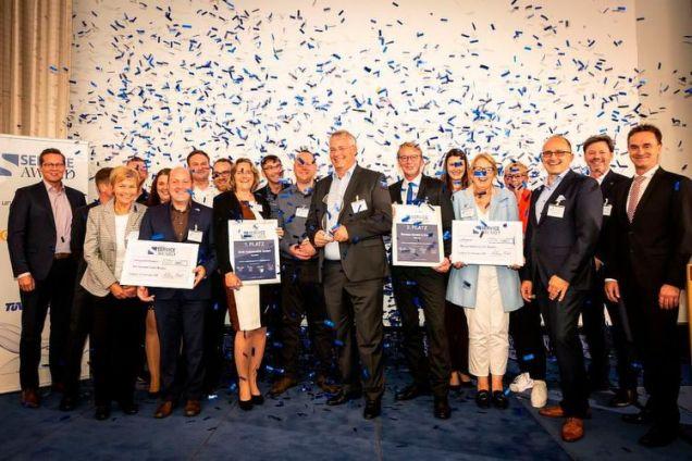 Service Award 2018 - Betriebe entdecken die Vorteile der Digitalisierung
