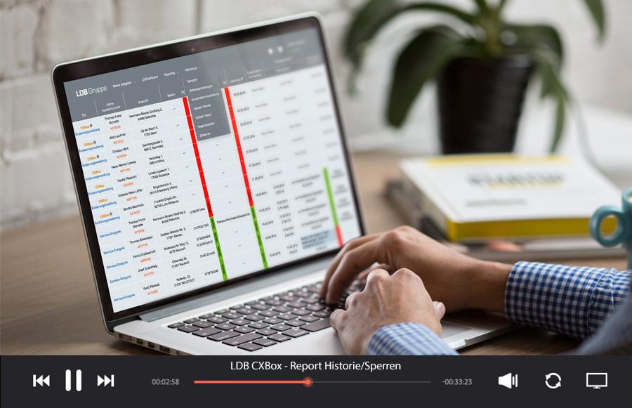 Neues Reporting-Tool für Nutzer der CXBox integriert