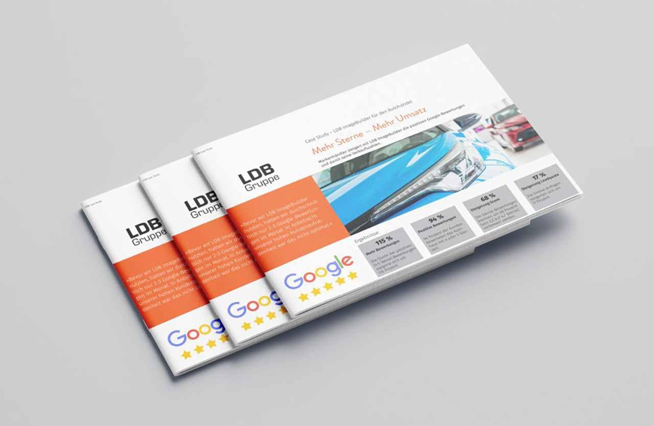 Case Study Google Sterne mit Imagebuilder