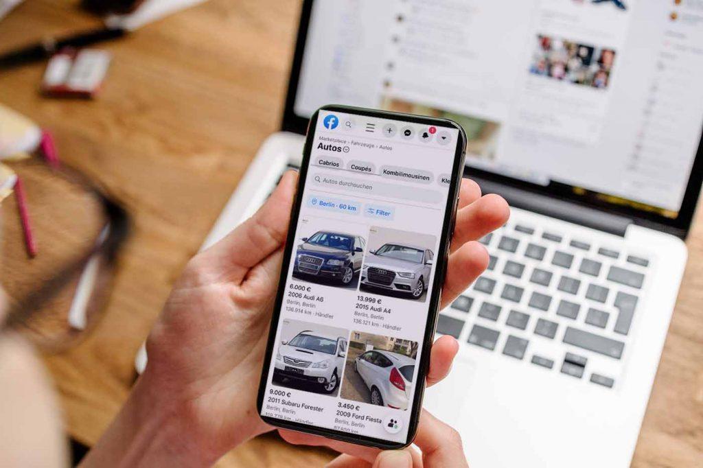 Verkaufen Sie schon Fahrzeuge über Facebook?